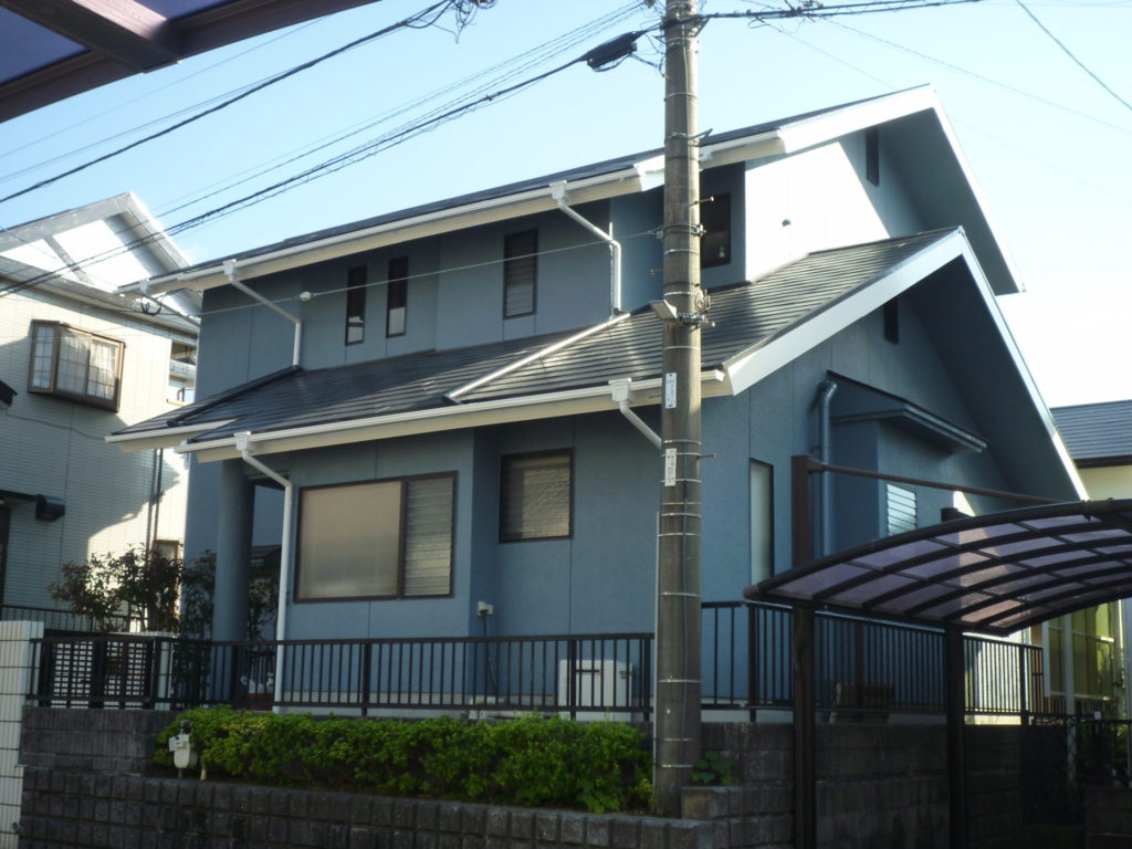 八幡東区 Y邸 屋根塗装:外壁塗装(補修工事)