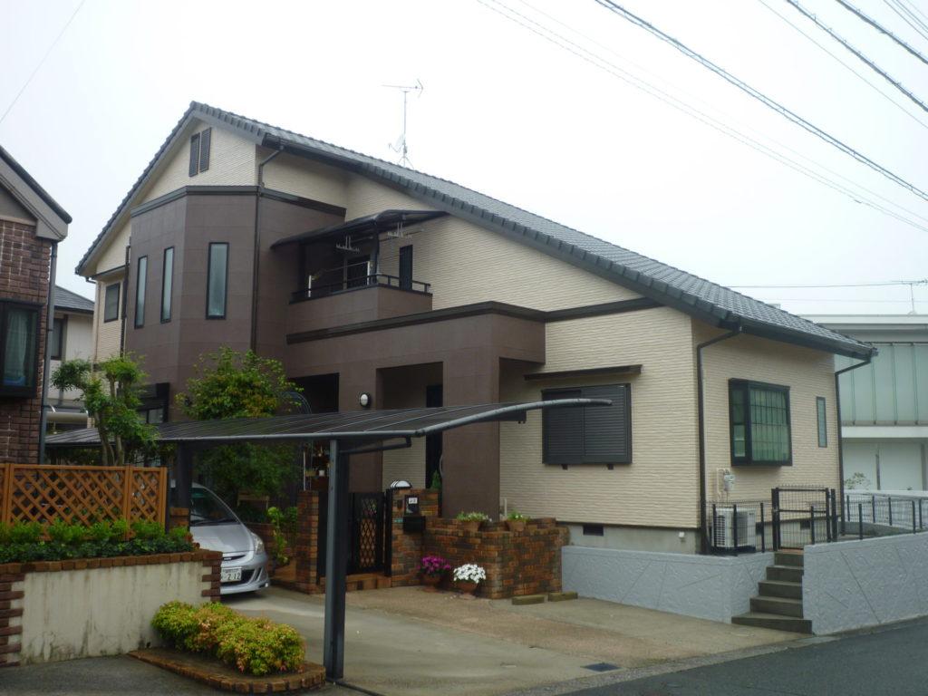 福岡県宗像市O様邸邸 外壁塗装
