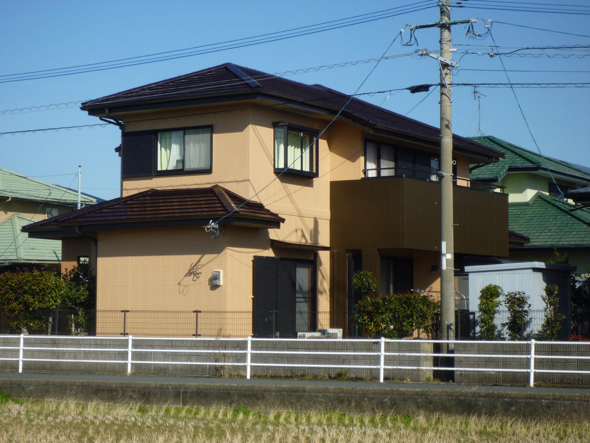 遠賀郡水巻町MK邸 外壁塗装・屋根塗装(補修工事)