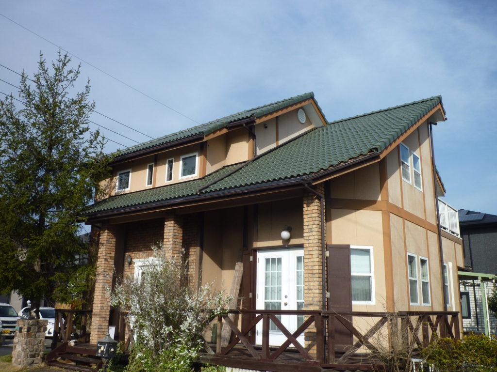 屋根瓦葺き替え工事(屋根塗装でわ不安な方にお勧めします)