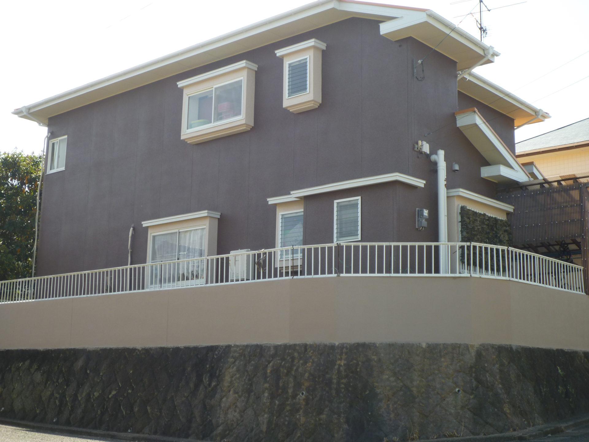 福岡県飯塚市K様邸 屋根、外壁 塗装