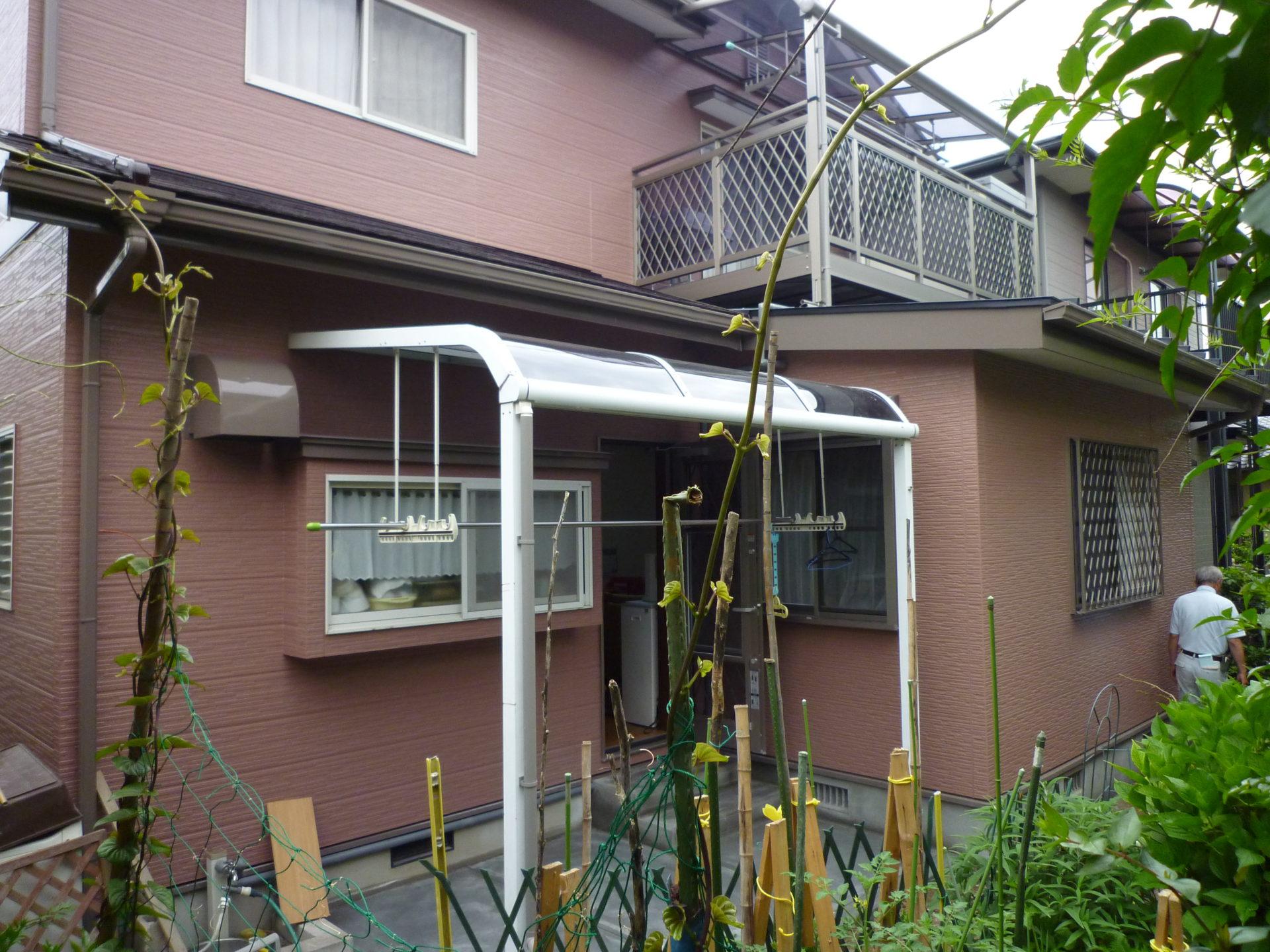 屋根:壁 塗装、及びアルミエクステリア:増築施工事例紹介