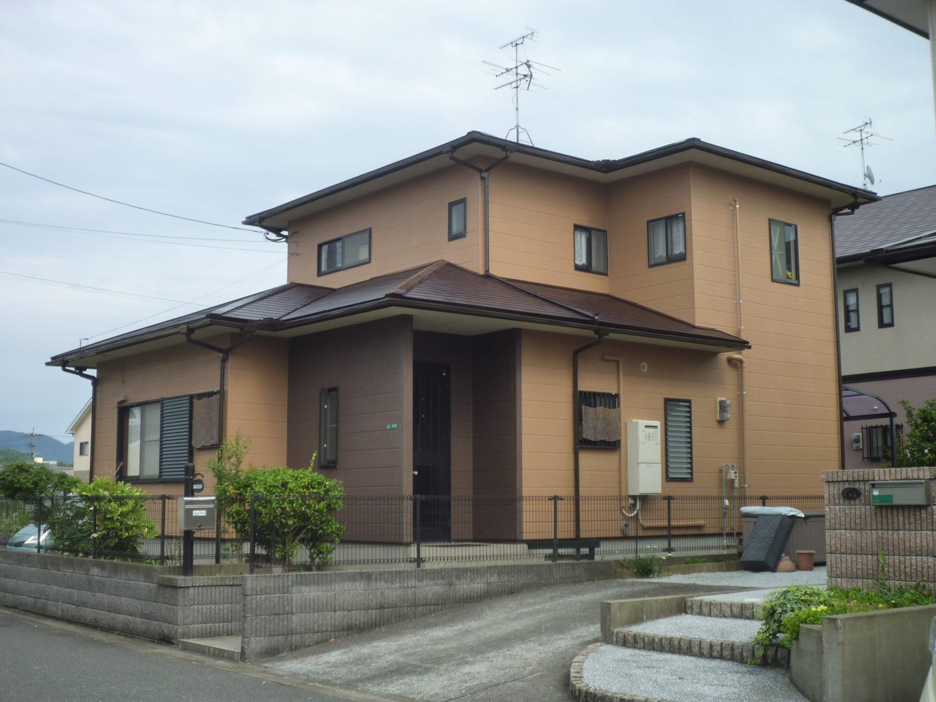 遠賀郡水巻町NO様邸 屋根、外壁塗装