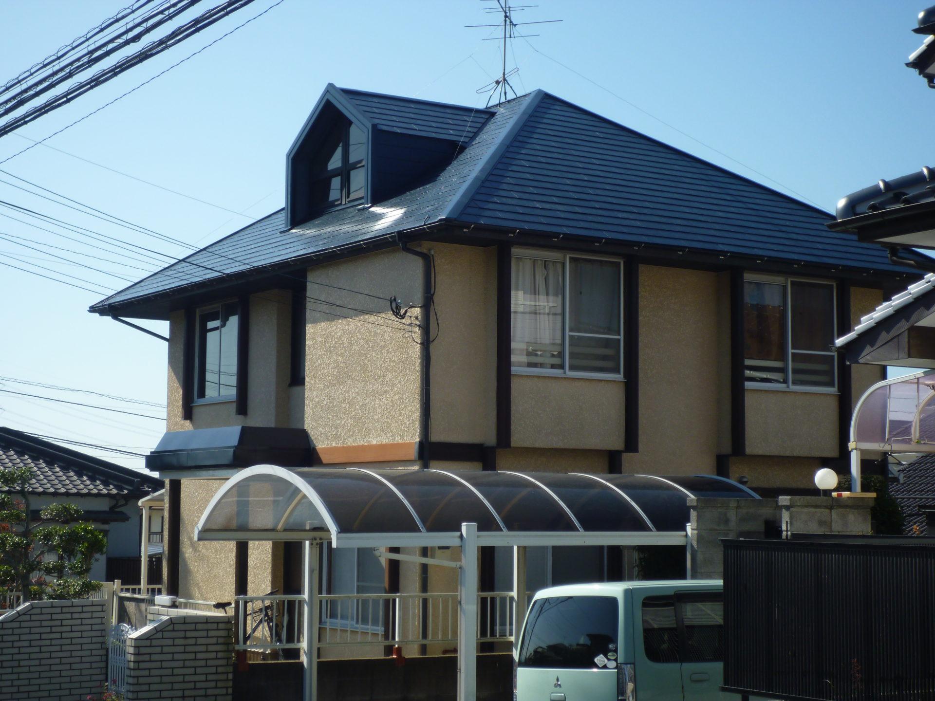 北九州市八幡西区 H様邸 屋根塗装