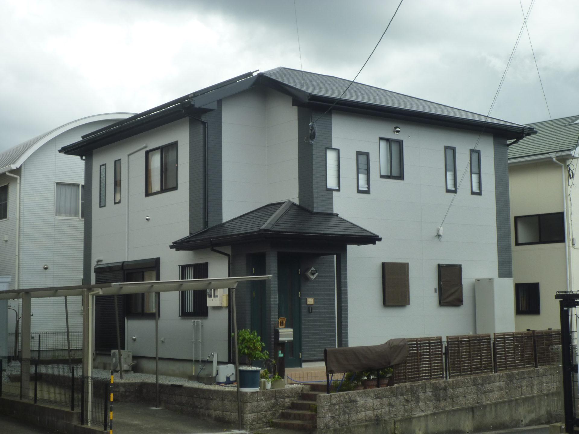 北九州市八幡西区の外壁:屋根 塗装工事の施工事例紹介