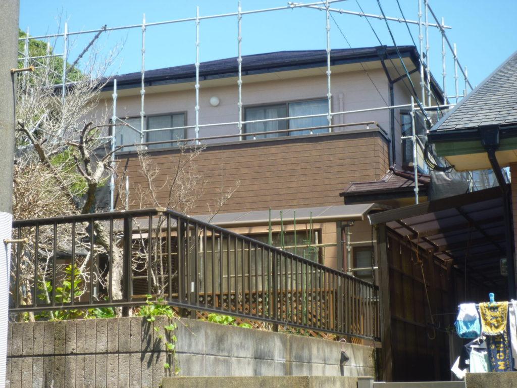行橋市I様邸、屋根塗装:外壁塗装【補修工事】