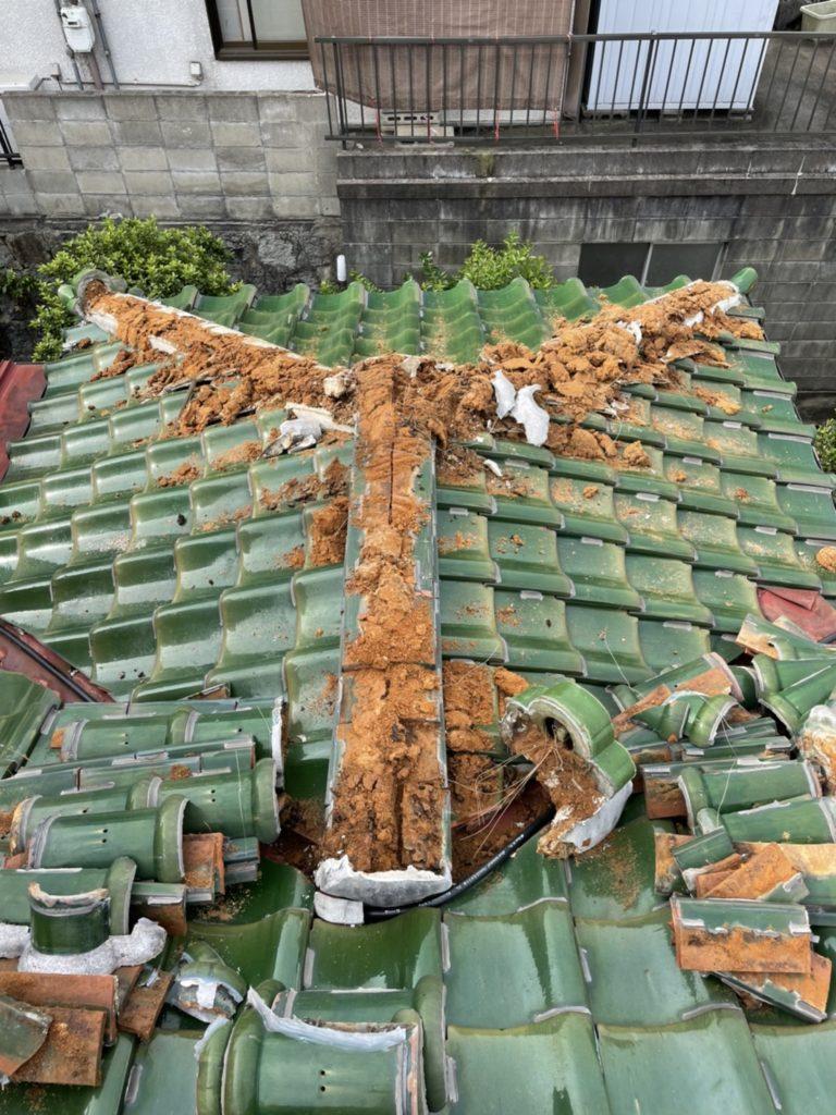 北九州市八幡西区 屋根工事:雨漏り