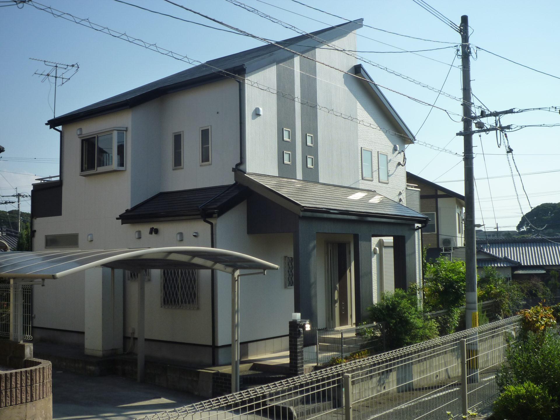 北九州市八幡西区 HS様邸 外壁塗装:屋根塗装